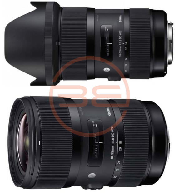 Sigma 18-35 Art lense 1.8 for commercial video production.