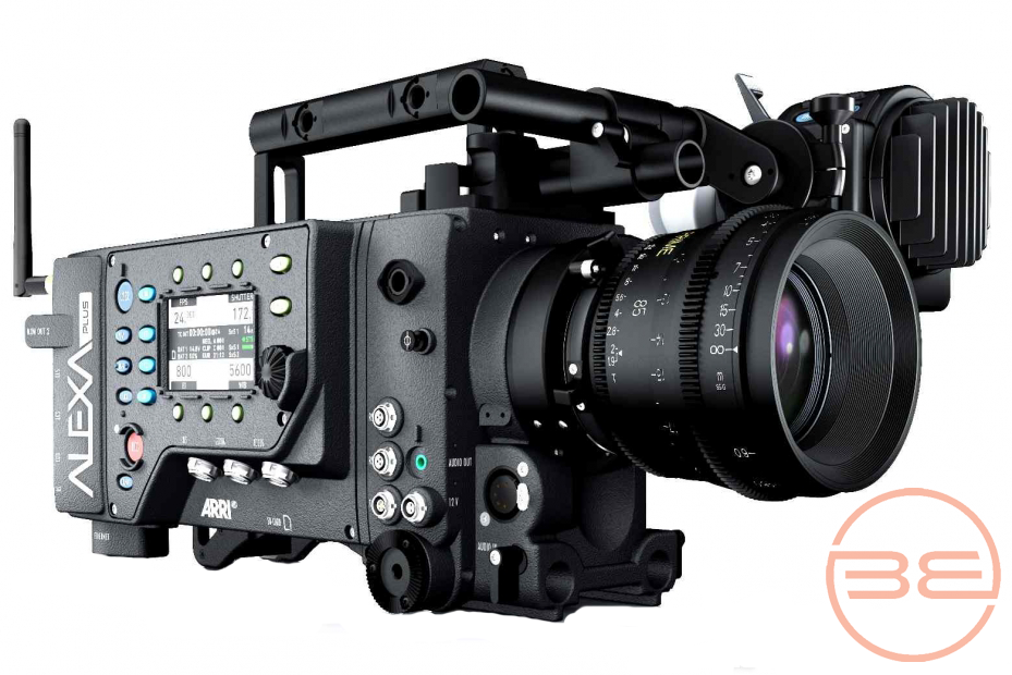 Arri digital video production camera, the Arri Alexa Plus.