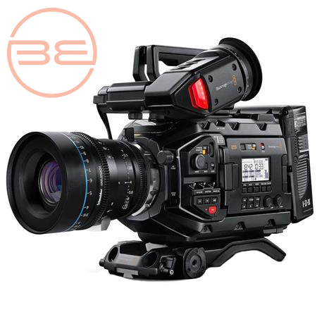 Video Production Camera by Black Magic.  The Black Magic Ursa Mini Pro v2 Video Production Camera