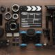 Different Video Equipment View From Above