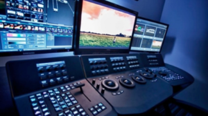 Video Post production room