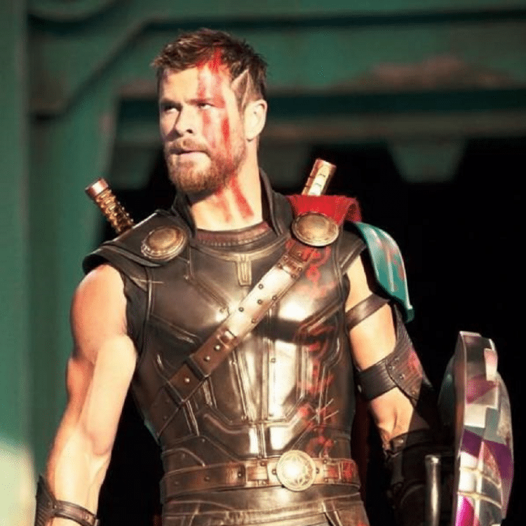 Successful actor playing the role of Marvel's Thor